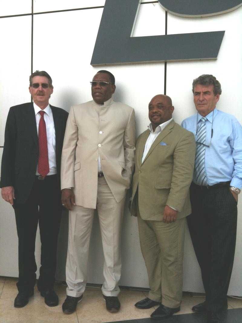 Cliff Atkinson Right In Lekki Nigeria